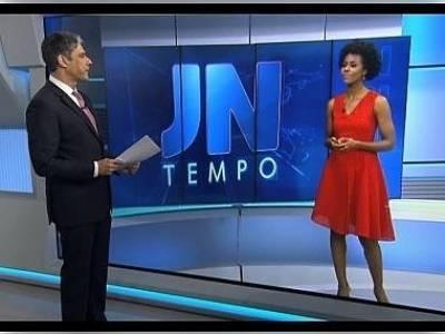 Bonner celebra chegada de Maju à bancada do 'JN': 'Notícia para alegrar todo mundo'